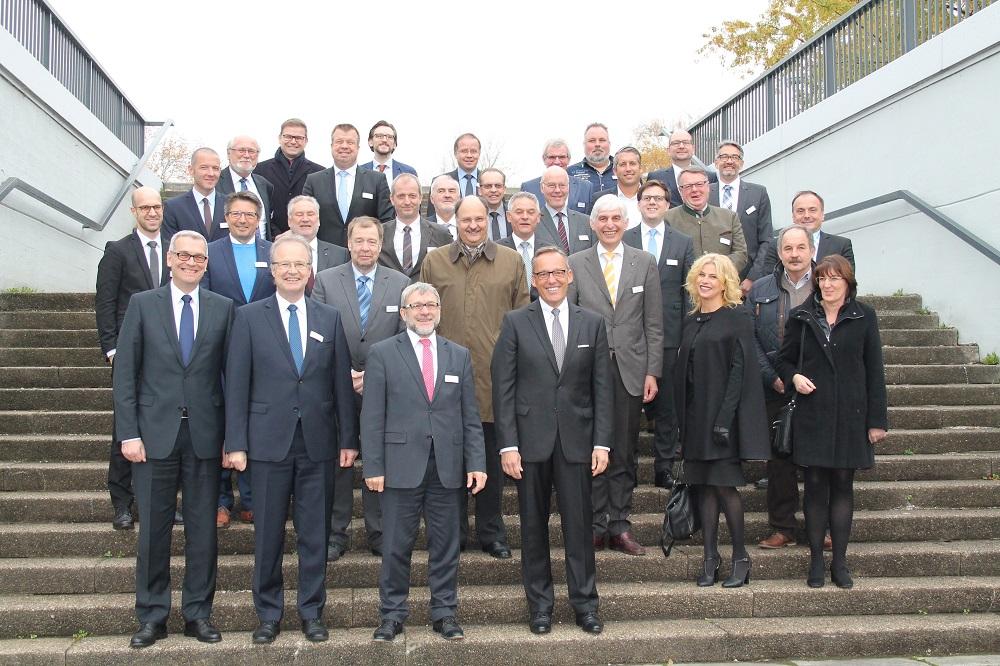 Volksbank Mittelhessen mit 65 Unternehmern beim Frankfurter Wirtschaftstag