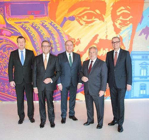 Vorstandsteam der Volksbank Mittelhessen