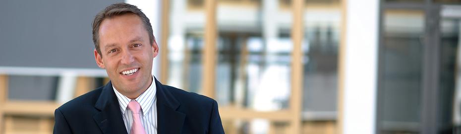 Dr. Peter Hanker, Vorstandsvorsitzender der Volksbank Mittelhessen eG