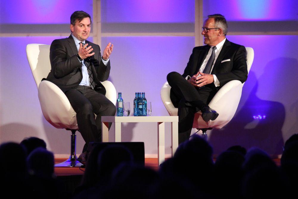 Markus Gürne, Gastredner, Mitgliederversammlung, Friedberg, Interview