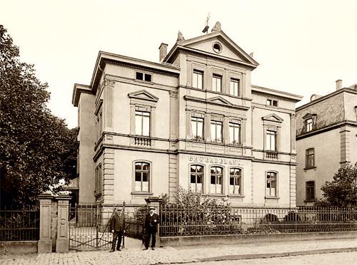 Sitz der Gewerbebank Gießen von 1881 bis 1929